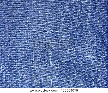The Blue Jeans Texture For Background