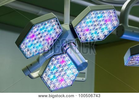 LED Surgical Lights System In Operating Room