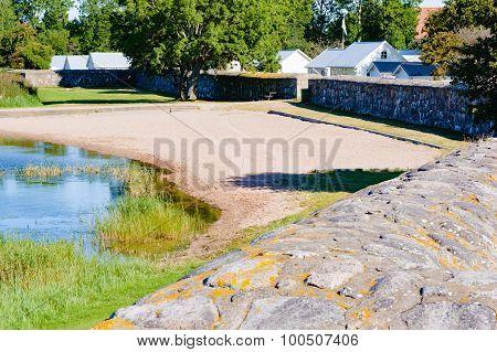 Beach And Wall