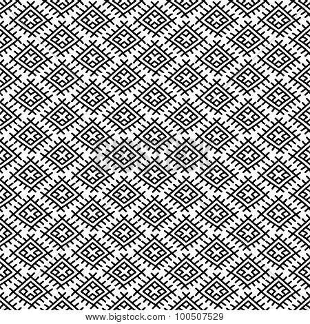 Ethnic Russian Seamless Pattern