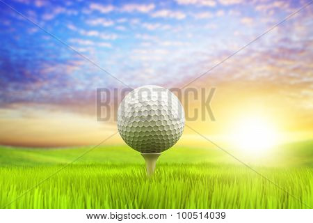 Morning Golf