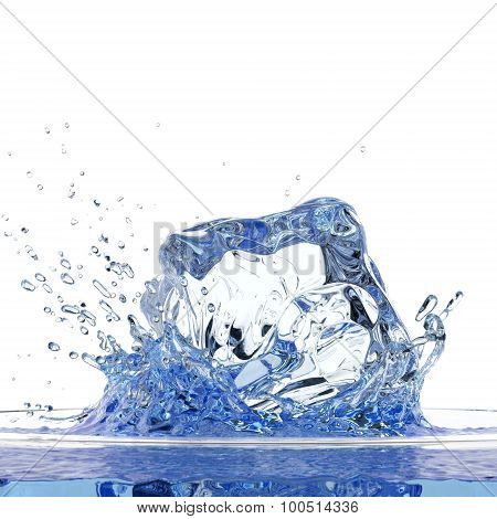 Ice Water Splash