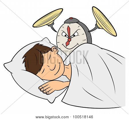 Cruel clock