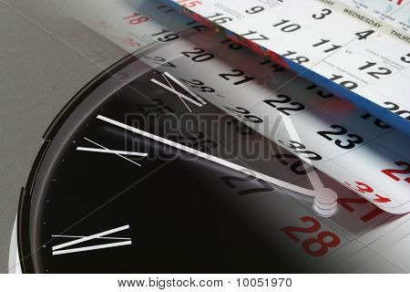 Clock And Calendar Pages
