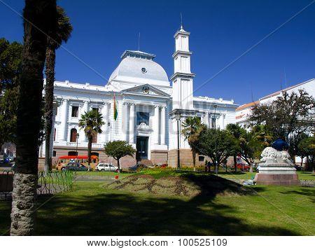 Supreme Court of Bolivia in Sucre