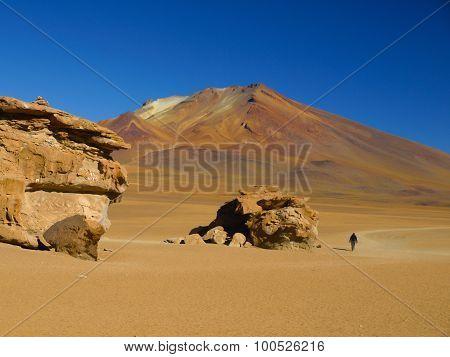 Rock formations in Cordillera de Lipez