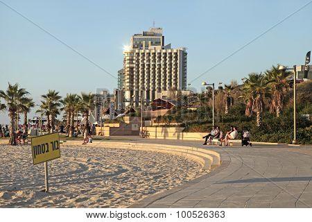 Herzliya Pituah Waterfront, Israel.
