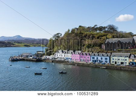Harbor Portree Scotland