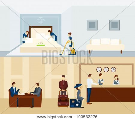 Hotel Staff Banner