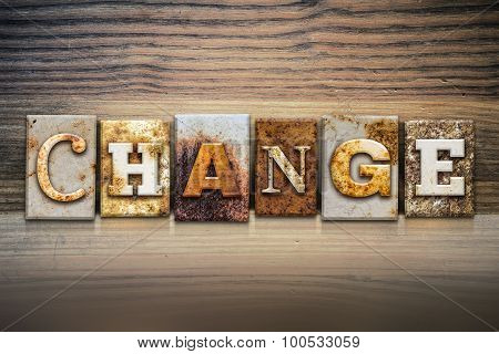 Change Concept Letterpress Theme