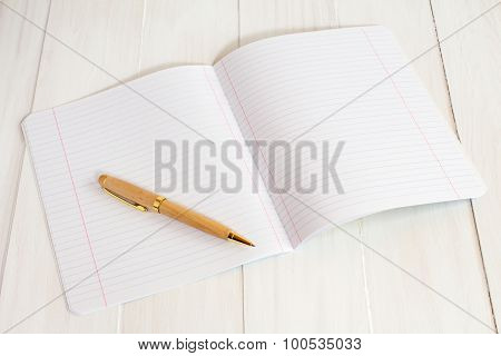 Exercise Book Jotter With Pen