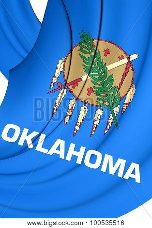 Flag Of Oklahoma, Usa.