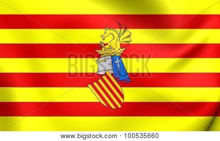 Preautonomous Flag Of The Valencia