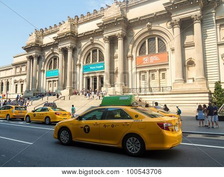 NEW YORK,USA - AUGUST 14,2015 : The Metropolitan Museum of Art in Manhattan