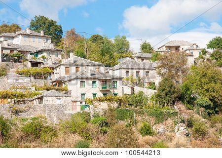 Greek Village In Zagoria