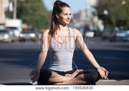 Street Yoga: Meditation Beside The Highway