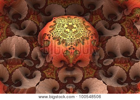 Virtual  flower detail