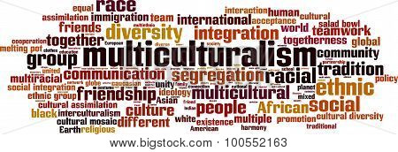 Multiculturalism Word Cloud