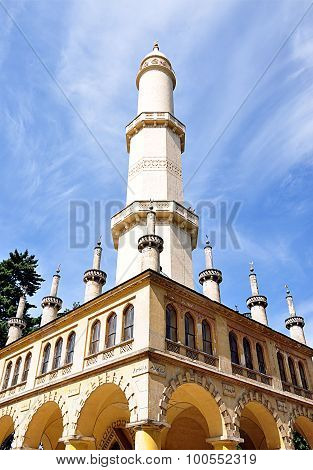 minaret, Czech Republic, Europe