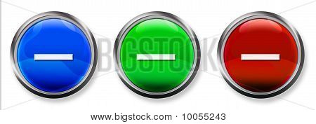 3-D RGB Buttons