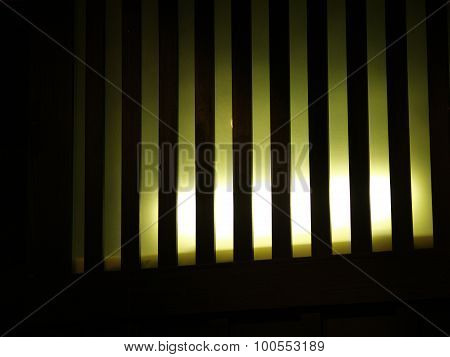 Striped Lightnning Indor Compositon