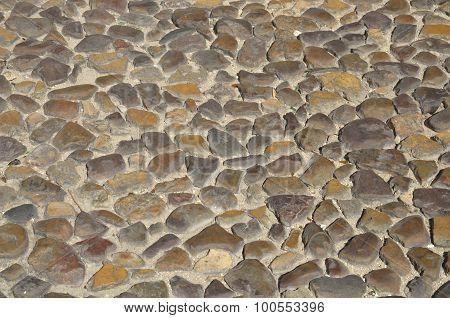 Cobblestone Portuguese Pavement