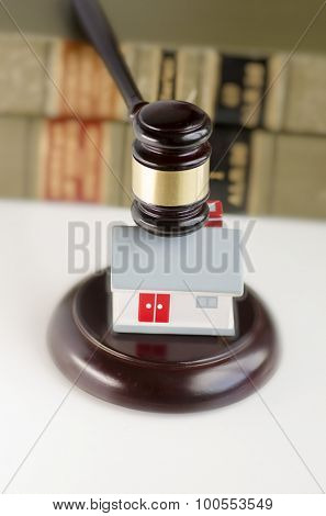 Legal law real estate concept image