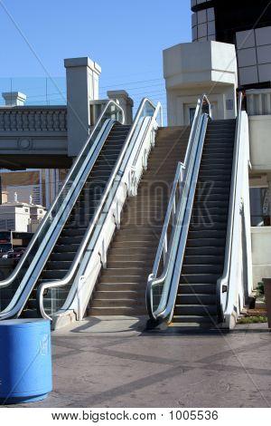 Outside Escalators
