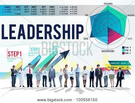 Leadership Management Responsibility Inspire Concept