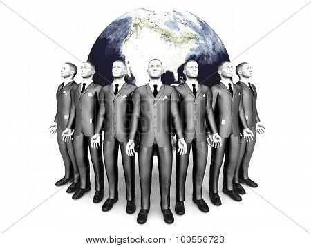 Global Business People
