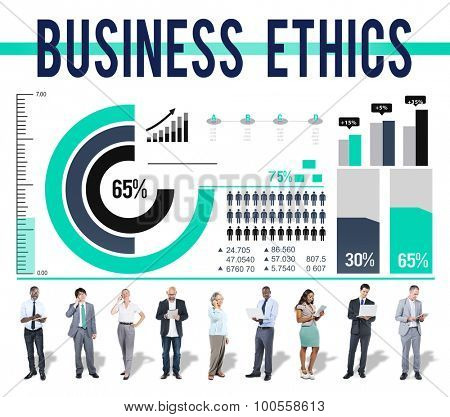 Business Ethnics Behaviour Ideology Moral Concept