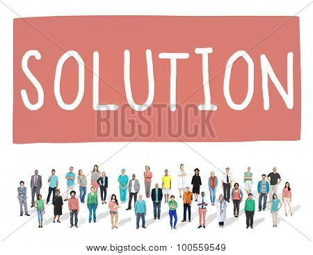 Solution Solving Problem Strategy Answer Concept