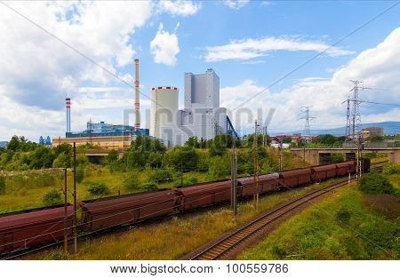 Thermal power station in Czech Republic