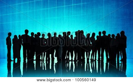Business People Corporate Meeting Communication Concept