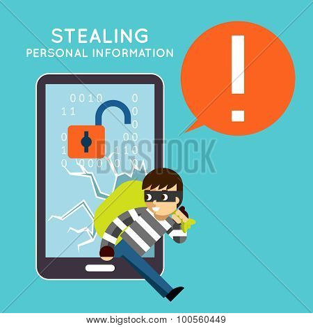 Stealing personal information from your mobile phone