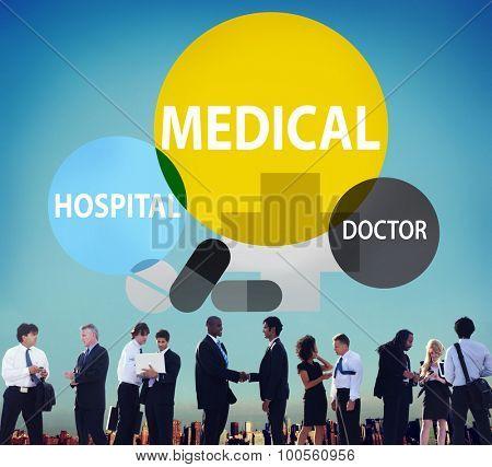 Medical Hospital Healthcare Wellness Life Concept