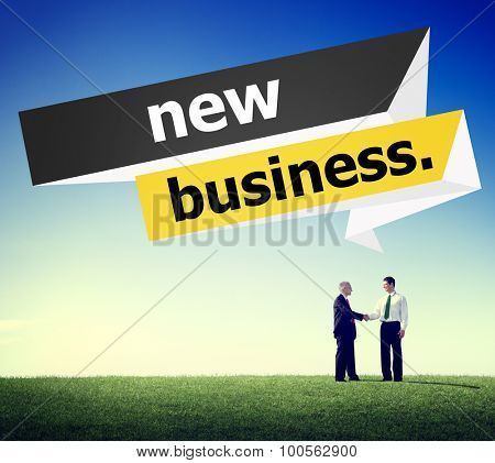 New Business Startup Strategy Ideas Creativity Concept