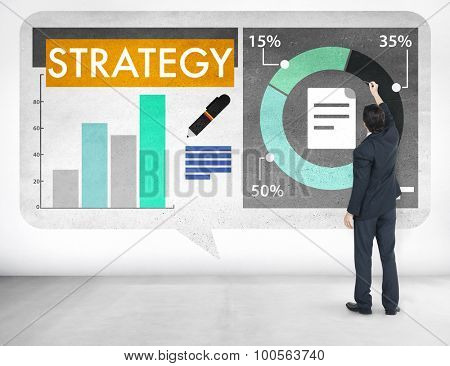 Strategy Thinking Planning Business Vision Concept