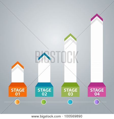 An image of a business stage icon.