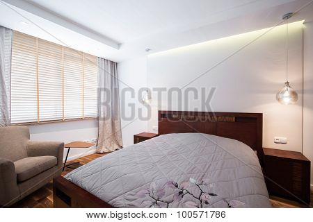Simple Design Light Bedroom