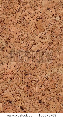 Texture of natural corkwood with large parts