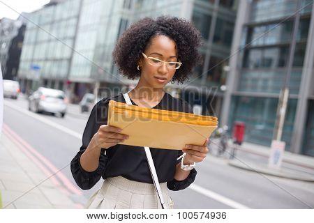 reading post