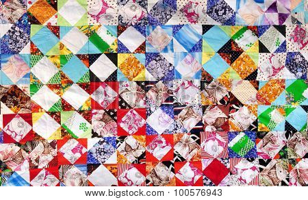 traditional russian patchwork background