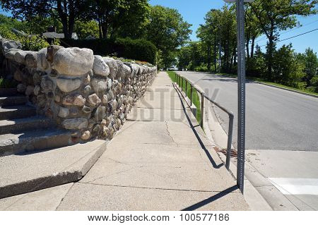 East Bluff Drive Sidewalk