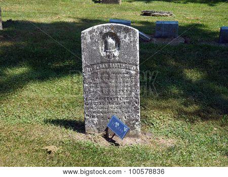 Civil War Veteran's Grave