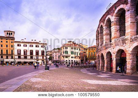 Square Bra In Verona, Italy