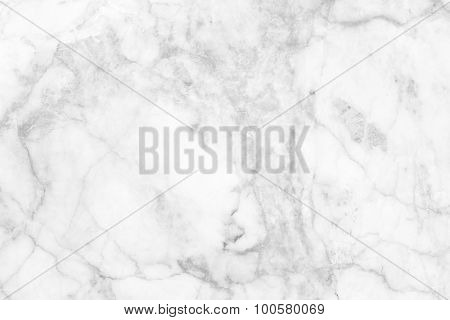 White (gray) marble patterned (natural patterns) texture background.