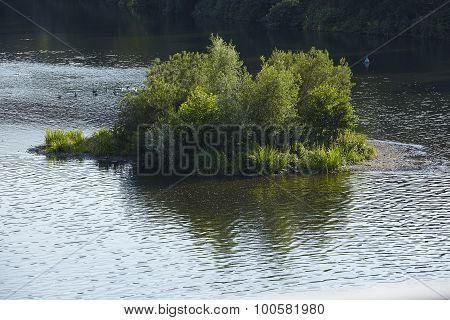 Essen (germany) - Isle In The River Ruhr