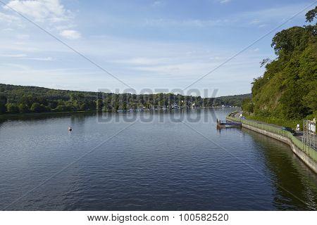 Essen (germany) - Lake Baldeney (baldeneysee)