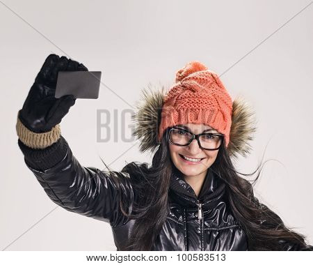 woman with credit card
